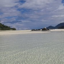 bassa marea isole del parco