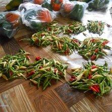 confezioni di peperoncini