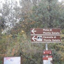 indicazioni cascate Monte Gelato