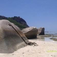 massi con bassa marea