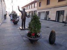 statua di Mike Bongiorno