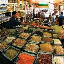 negozio spezie ad Amman