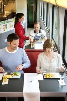 ristorante sul treno