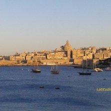 La Valletta al tramonto
