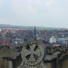 Whitby vista dal cimitero