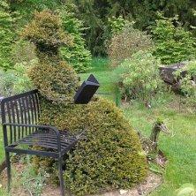 nel giardino del castello Sudeley