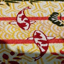 dettagli fiori del tappeto