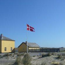 case sulla spiaggia Skagen