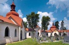 complesso religioso con cimitero