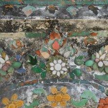 fiori di ceramica al Wat Arun