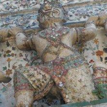 guerriero di ceramica