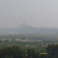 Taj Mahal visto dal Forte