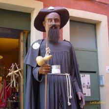 in ricordo dei pellegrini del Cammino di Santiago