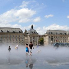 Miroir-d-Eau a Bordeaux