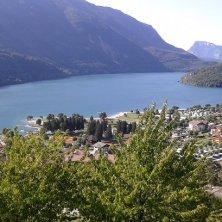 lago Molveno dall'alto