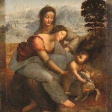 La Vierge, l'Enfant Jésus et sainte Anne, Léonard de Vinci. Photo © DR