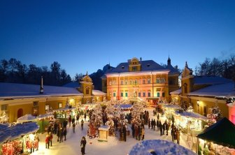 Adventmarkt Hellbrunn
