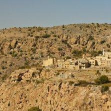 Ad Dakhiliyah - View of the village in Jebel Akhdar, Nizwa, Ad Dakhiliyah, Oman