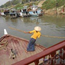 barcarola sul fiume