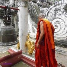 monaco al palazzo reale Mandalay