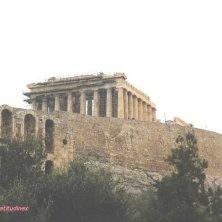Partenone visto da sotto