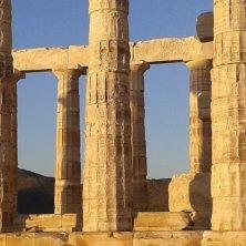colonne del tempio di Poseidone