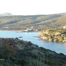 panorama sul porto naturale