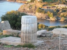 resti archeologici Capo Sounion