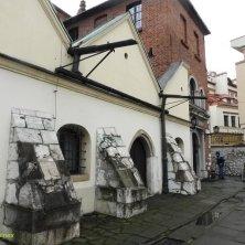 retro sinagoga Cracovia