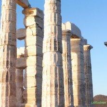 tempio e colonne Poseidon