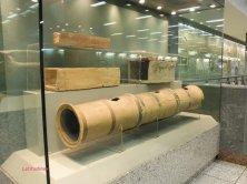 vetrina museo sotto la metro