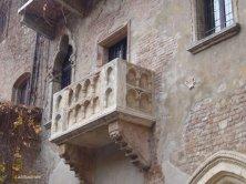 Verona balcone di Giulietta