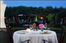 cena romantica in villa