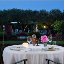cena romantica in villa
