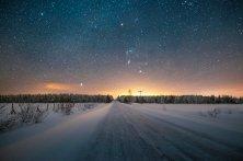 notte polare Finlandia