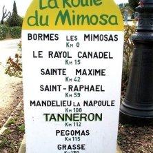 BORMES bornes route mimosas