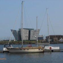 museo Titanic visto da Belfast