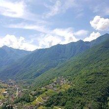 Panoramica vigneti Fomarco - Val d'Ossola - Azienda Agricola Ca' da l'Era - Ossola in Cantina