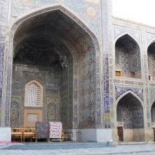 all'interno del cortile madrasa