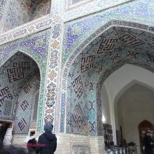 cortile madrasa piazza Registan