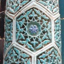 decori turchese Shakhi Zinda
