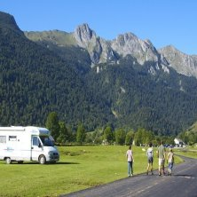 Famille et camping car