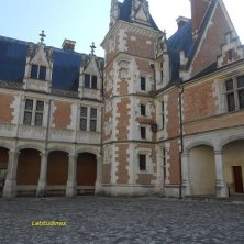 cortile di Blois