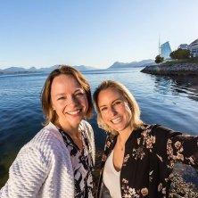 in barca a Molde