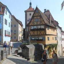 in giro per Rothenburg