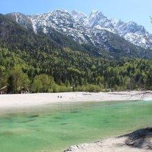 acque del lago di Jasna