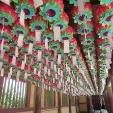 lanterne a Bulguksa Gyeongju