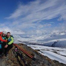 Camandona e la moglie in Alaska