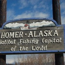 Homer capitale dell'halibut
