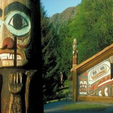 Totem native art foto Mark Kelley